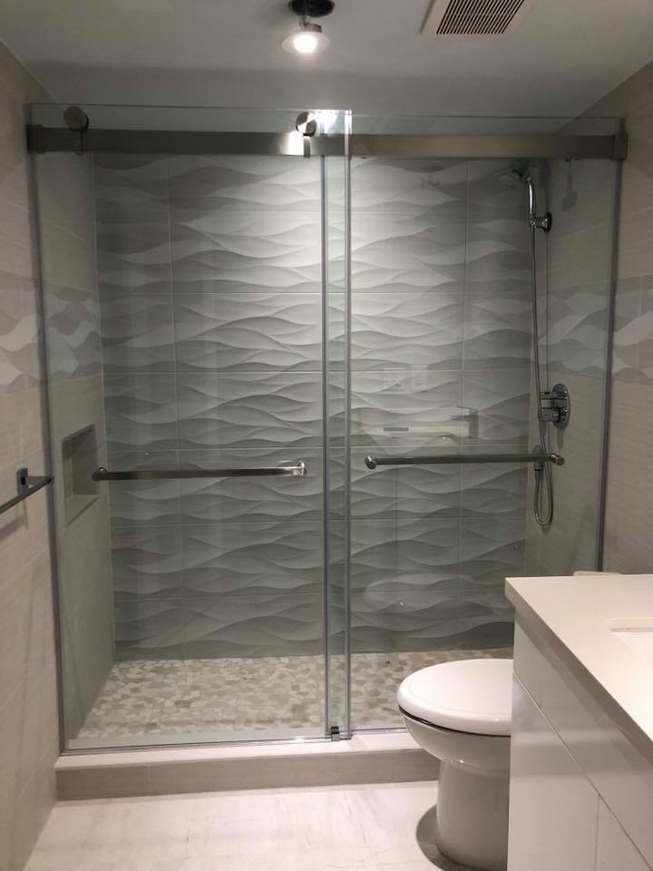 Why You Need Giant Glass & Mirror in Your Bathroom